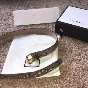 Other - Gucci King snake belt